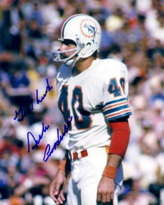 Dick Anderson autographed Miami Dolphins 8x10 photo
