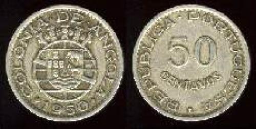 50 centavos; 1948-1950; (km 72)