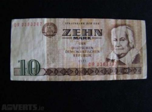 GDR 10 marks 1971
