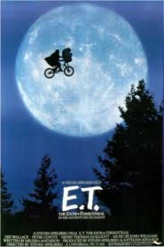 E.T. Movie Poster
