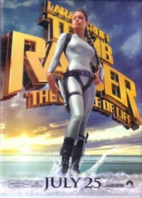 Lara Croft Tomb Raider The Cradle of Life movie promo button or pin