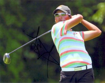 Yani Tseng autographed 8x10 2008 LPGA Championship photo