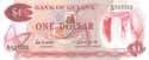 1 Dollar; Guyana banknotes
