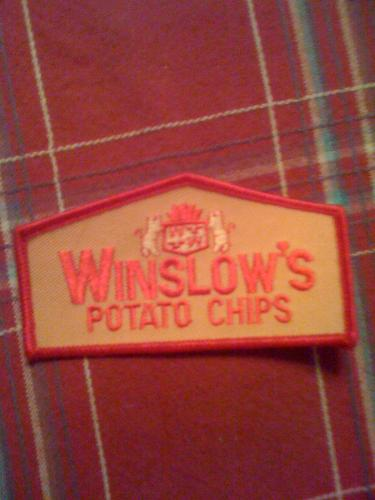 Winslows Potato chip company patch