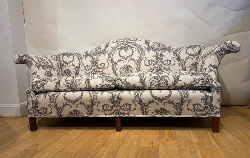 Antique Upholstered Arm Chair at John Bird Antiques in Petworth, West Sussex, UK