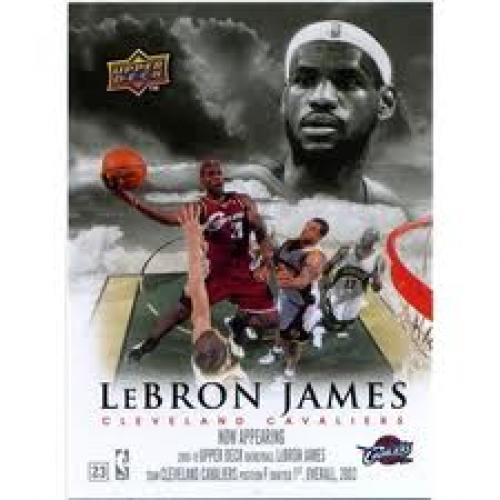 Basketball Card; Lebron James Basketball Card; Cavaliers