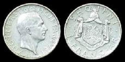 1 frang ar 1935-1937 (km 16)