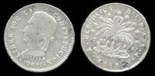 2 soles 1859-1863 (km 135)