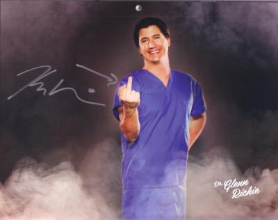 Ken Marino autographed Children's Hospital calendar 8x10 photo