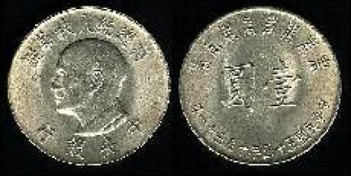 1 yuan; Year: 1966; (km y#543)