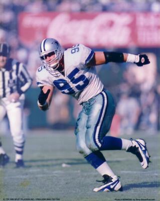 Chad Hennings 8x10 Dallas Cowboys photo