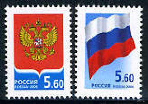 Coat of arms & flag 2v