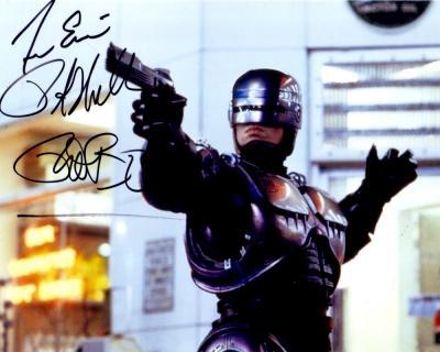 Peter Weller autographed Robocop 8x10 photo (For Eric)