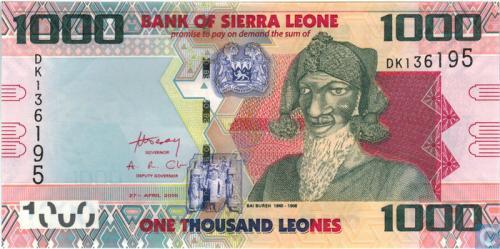 Sierra Leone Leones 1000