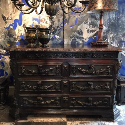 Antique Furniture, Large Abstract Paintings : Twig Antiques & Interiors, Tetbury, UK
