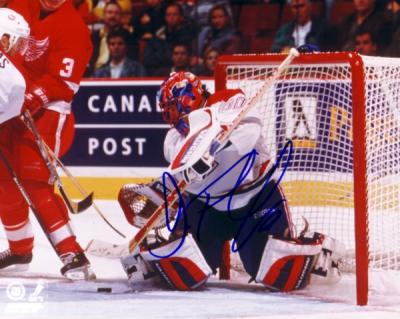 Jose Theodore autographed 8x10 Montreal Canadiens photo