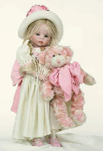 Dolls; This Beautiful Collectible Porcelain Doll, is 24&quot; tall, and LE 150