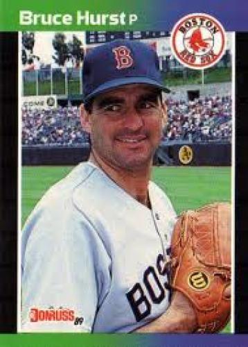 Baseball Card;  BOSTON RED SOX - Bruce Hurst #423 DONRUSS