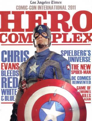 Captain America movie 2011 Comic-Con LA Times magazine (Chris Evans)