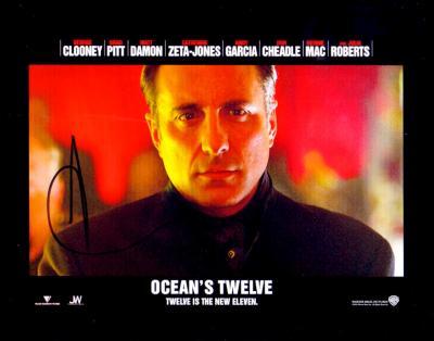 Andy Garcia autographed 8x10 Oceans Twelve photo