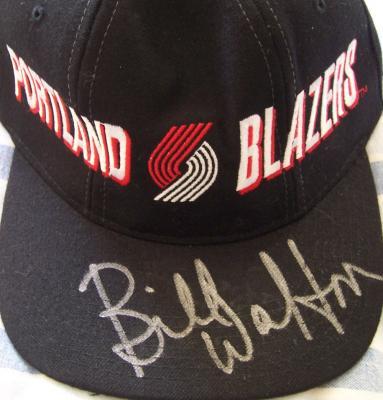 Bill Walton autographed Portland Blazers cap