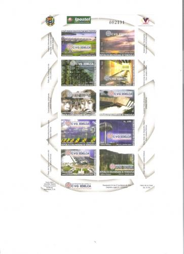 STAMPS 2004  EDELCA HIDROELECTRICA