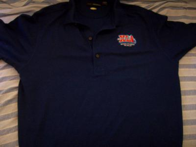 Super Bowl 41 golf or polo shirt (Indianapolis Colts 29 Chicago Bears 17)