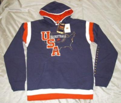 USA Basketball Nike hooded sweatshirt (hoodie) LARGE NEW WITH TAGS