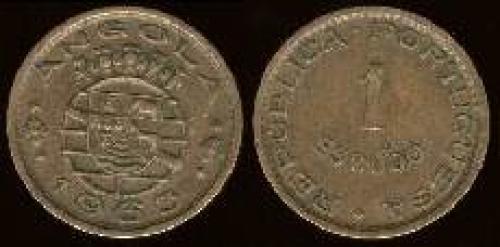 1 escudo; Year: 1953-1974 (km 76)