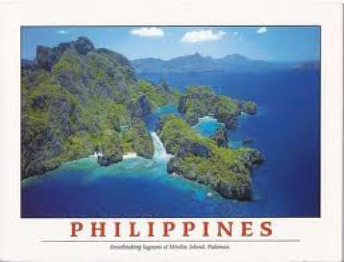 Postcard; Palawan is an island province of the Philippines