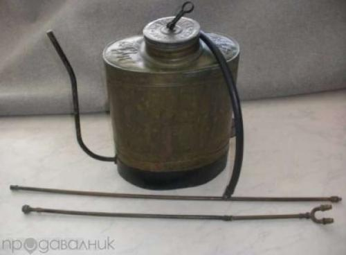 antique knapsack sprayer