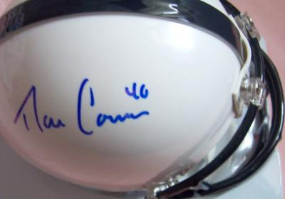 Dan Connor autographed Penn State mini helmet