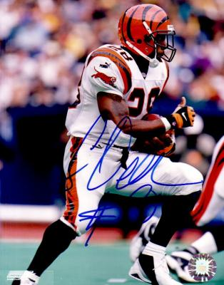 Corey Dillon autographed Cincinnati Bengals 8x10 photo