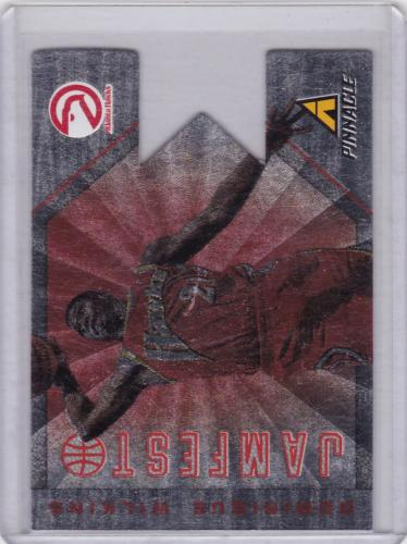 2013 - 14 PINNACLE JAMFEST DIE CUT SERIAL #/99 DOMINIQUE WILKINS