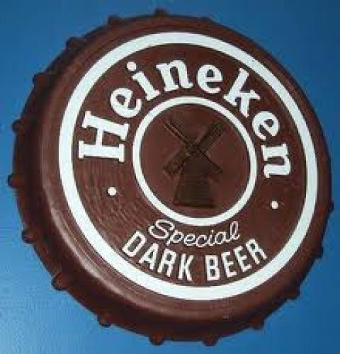 Vintage Heineken Dark Beer Plastic Bottle Cap