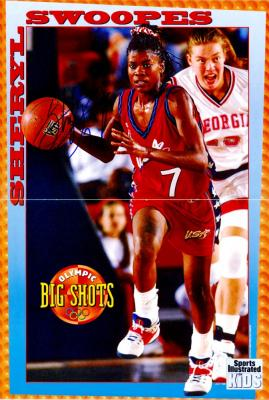 Sheryl Swoopes autographed USA Basketball July 1996 Sports Illustrated for Kids mini poster