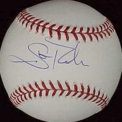 Scott Rolen autographed NL baseball
