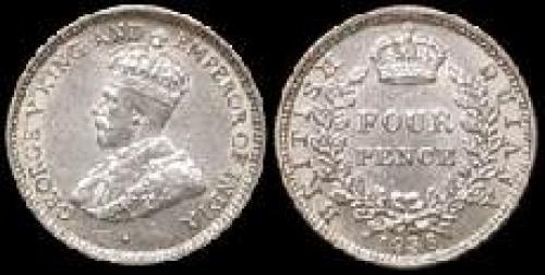 4 pence 1917-1936 (km 29)
