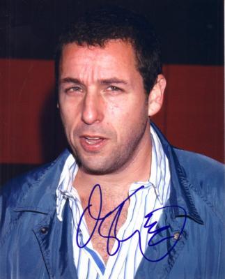 Adam Sandler autographed 8x10 portrait photo