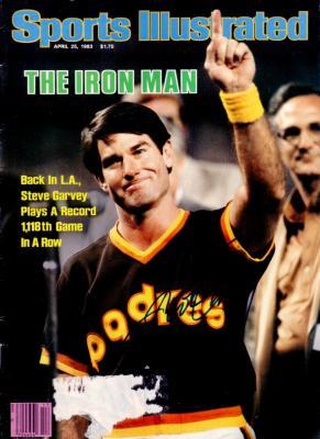 Steve Garvey autographed San Diego Padres 1983 Sports Illustrated
