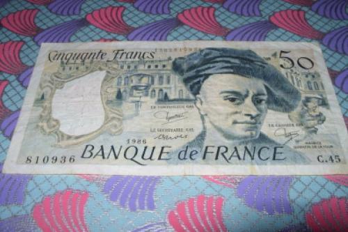 France 50 Francs 1986