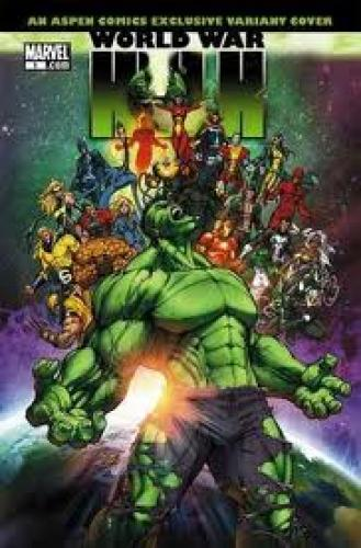Comics; World War Hulk #1 Michael Turner Aspen Variant