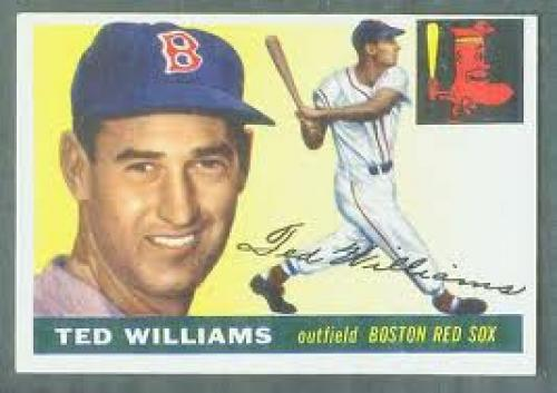 955 Topps #..2 Ted Williams (Red Sox) Baseball cards