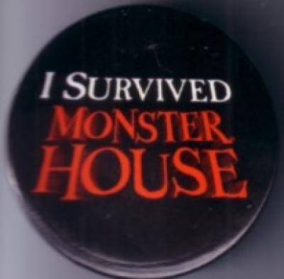 Monster House movie promo button or pin