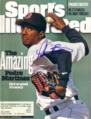 Pedro Martinez autographed Boston Red Sox 1998 Sports Illustrated