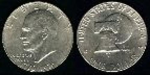 1 dollar; Year: 1976; Bicentennial