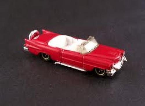 Cars; (Thailand) 56 Cadillac Eldorado Convertible - Red larger