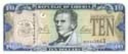"10 Liberian Dollar; Issue of 2003-2004, ""Central Bank"" series"