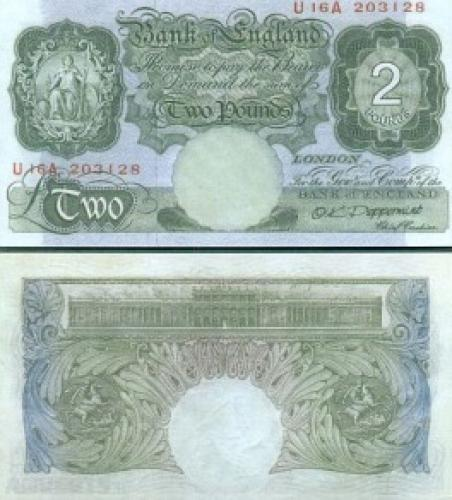 Great Britain - 2 Pounds-fantasy Banknotes