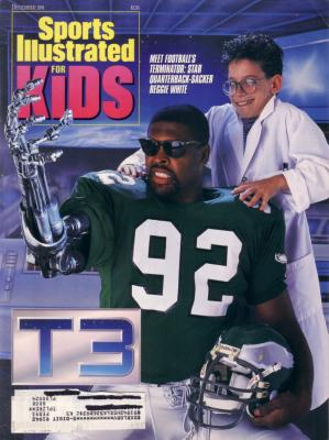 Reggie White Eagles 1991 Sports Illustrated for Kids magazine